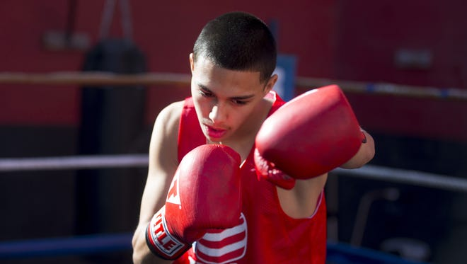 Adrian Servin of Phoenix lost in the winner's bracket semifinals Tuesday at the USA Boxing Olympic Trials.