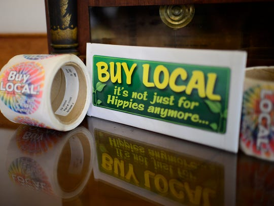 "Lt. Gov. Phil Scott shows off his unique ""buy local"""