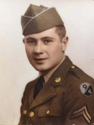 U.S. Army veteran Al Moraldi served in the 94th Infantry Division during World War II.