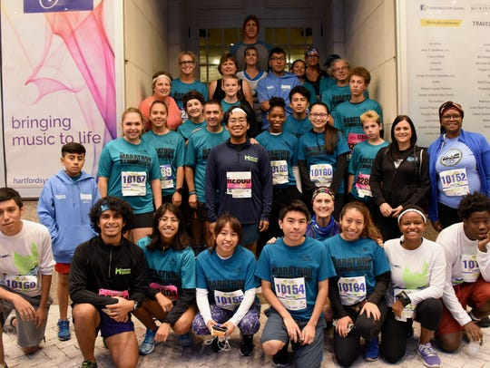 Marathon Project runners competed at the Oct. 14 Hartford