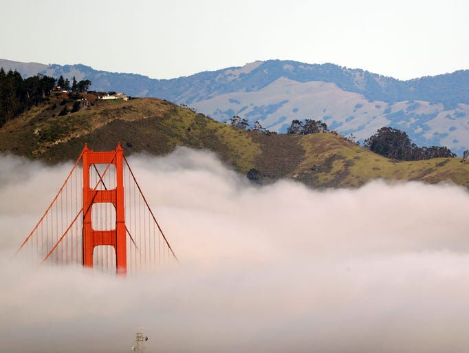2017 AP YEAR END PHOTOS - A tower from the Golden Gate