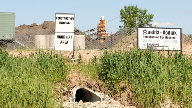 Site of the proposed Oneida waste-to-energy plant at 1230 Hurlbut Street in Green Bay.