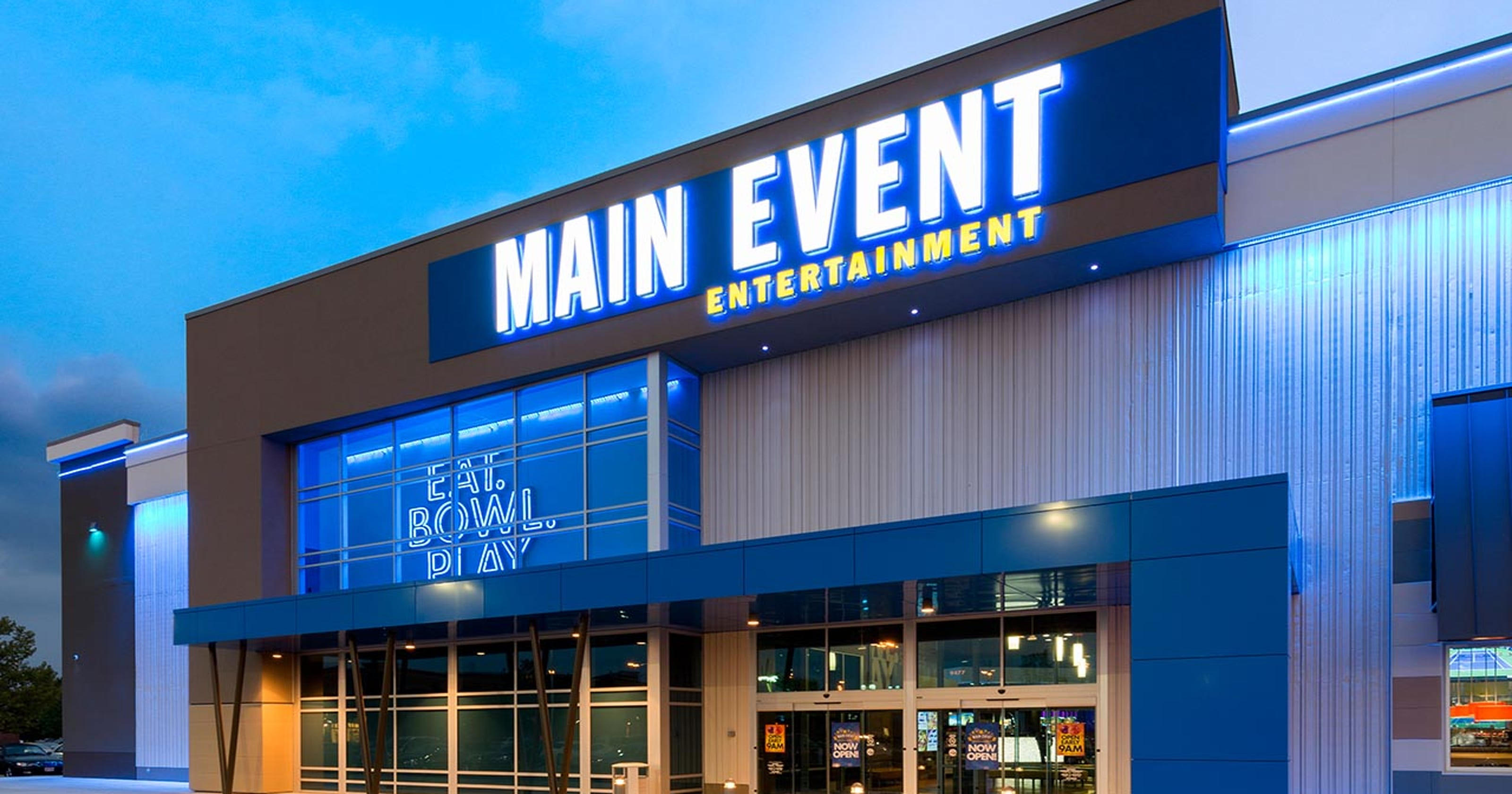 Main Event Entertainment Opening Knoxville Location