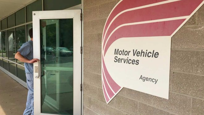 The state Motor Vehicle Commissions inspection site on South Second Street in Plainfield will close permanently on June 30. This file photo shows an MVC office in Cherry Hill, unaffected by the site closure in Plainfield.