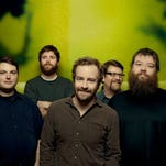 Trampled by Turtles is Dave Simonett, Tim Saxhaug (bass, vocals), Dave Carroll (banjo, vocals), Erik Berry and Ryan Young (fiddle).