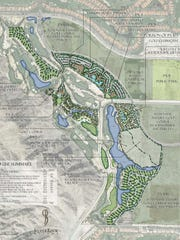 SliverRock Resort master plan.