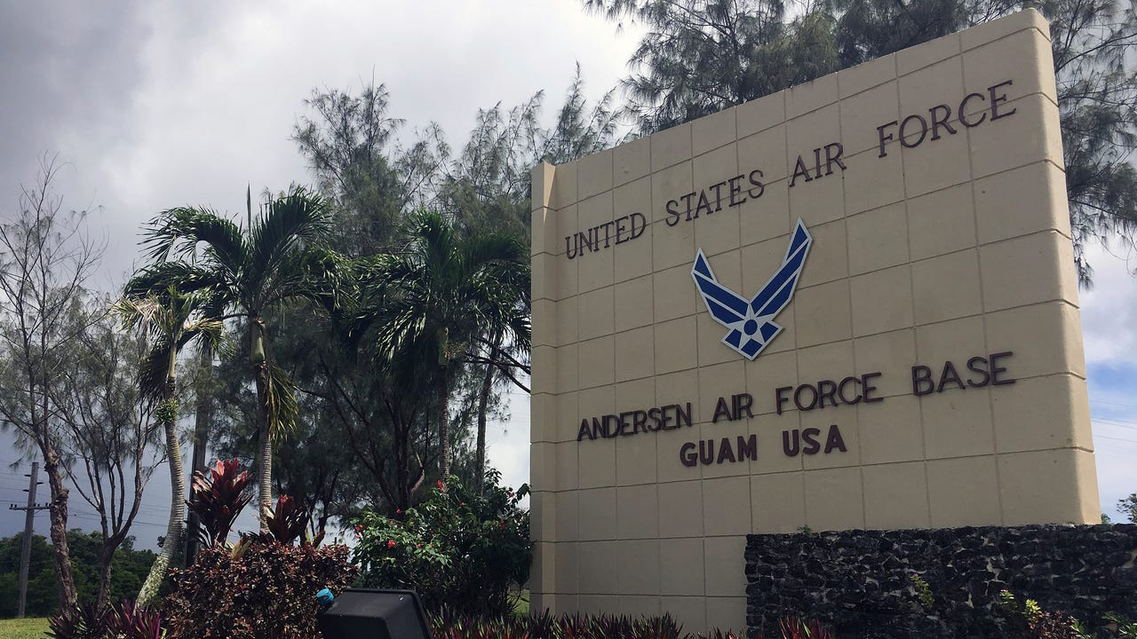 U.S. Air Force: Guam base deters adversaries