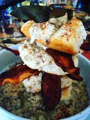 Nice Guys crafts its biscuits and gravy using lard