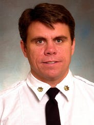 FDNY Battalion Chief Michael Fahy, killed in a Bronx