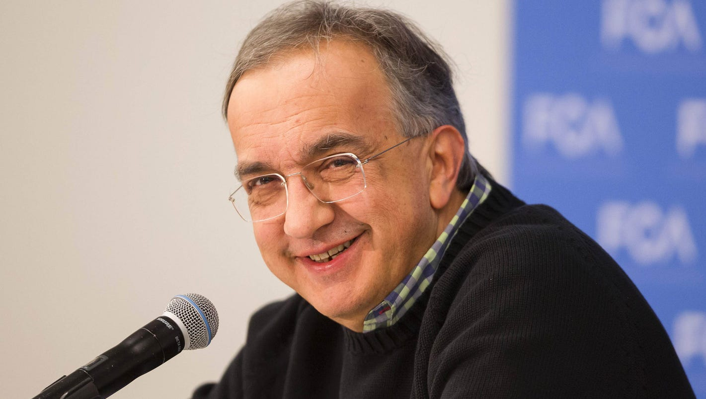 Fiat Chrysler Ceo Sergio Marchionne On Trump We Need