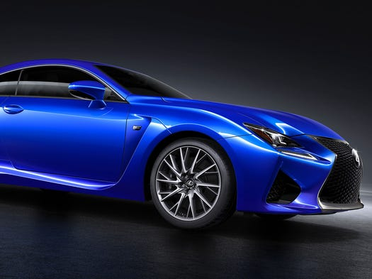 Lexus RC F is the brand's entry into the two-door sport market, a car that can be used for weekday commuting and weekend fun