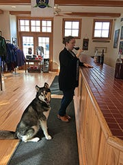 A visit to the tasting room at Fox Run Vineyards in