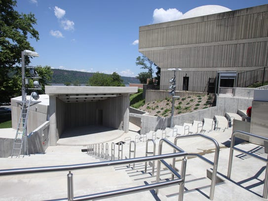 The 400-seat amphitheater at the Hudson River Museum