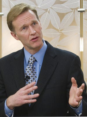 Wendell Weeks, Corning Inc. chairman and chief executive officer, shown in 2009.