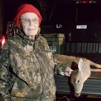 This woman is 100 years old and still dropping deer