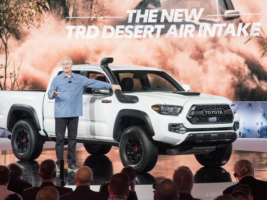 Toyota Division Chief Jack Hollis Shows Off The Snorkle