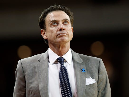 Louisville head coach Rick Pitino has been to seven