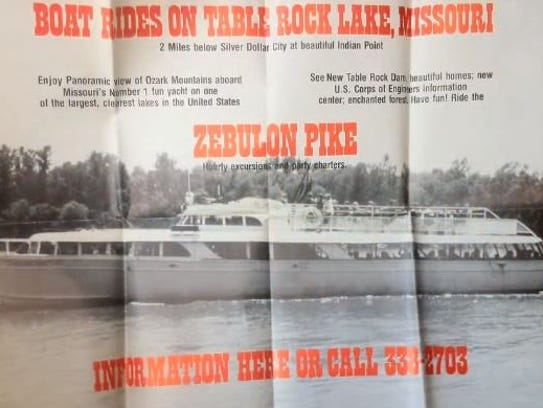 For years, the Zebulon Pike was a tour boat on Table