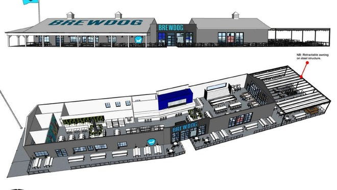 BrewDog New Albany renderings