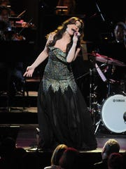 Idina Menzel performs at Radio City Music Hall in June