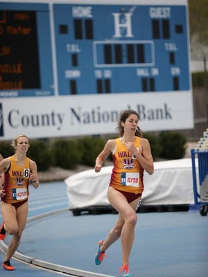 Andra Lehotay finished her Walsh University career as a 10-time All-American.