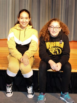 Junior High School (Middle School) Future Problem Solvers Team are Bella McDevitt and Angelina Levner.