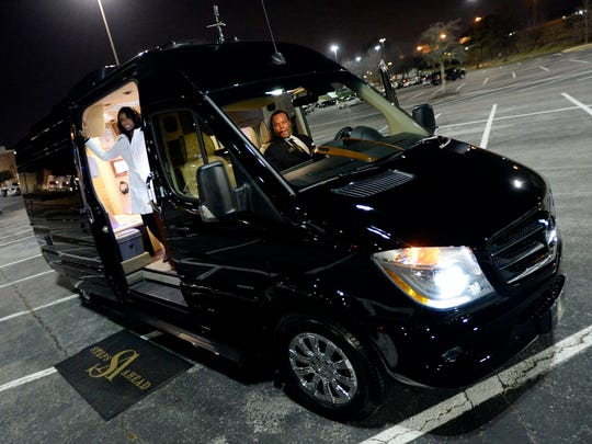 Shenita and Carlos Baker started Steps Ahead, which provides vans that are equipped as mobile offices for business professionals to rent out as needed.