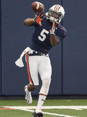 Ricardo Louis is entering his senior season as Auburn's most experienced wide receiver.