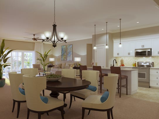 Apartments at Canopy Oaks are slated to be spacious
