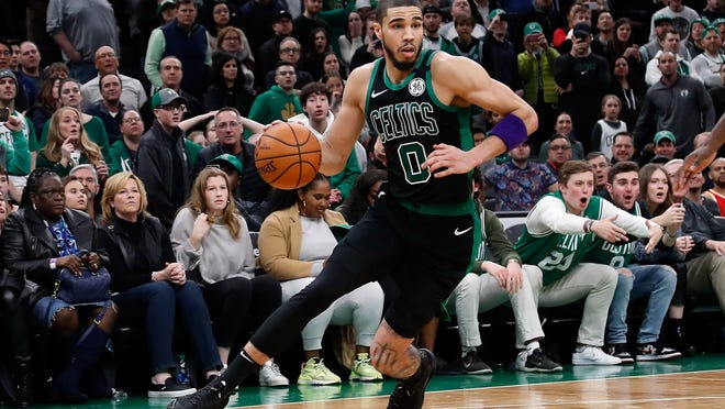 """He's going to be better than me,"" former Celtics great Paul Pierce said of Boston star Jayson Tatum."