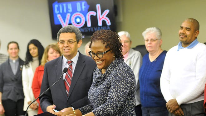 York Mayor Kim Bracey signed an executive order in January reiterating that York is a city that's welcome to immigrants. This month, after President Trump issued an executive order that would open local police to play a bigger role in federal immigration laws, some York County officials weren't so sure of participating.