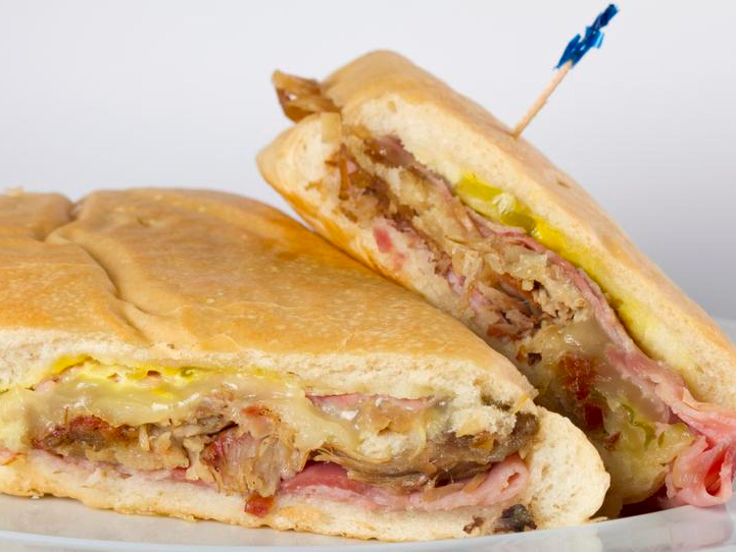 The Cuban sandwich from Casa Rojas in Cape Coral was