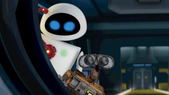 """A scene from the animated film """"WALL-E."""""""