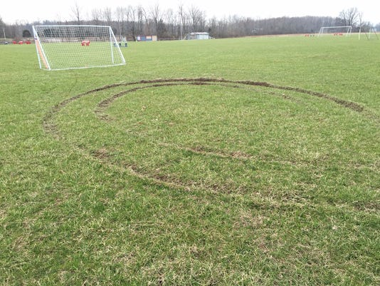 more ruts photo of Goshen Soccer fields