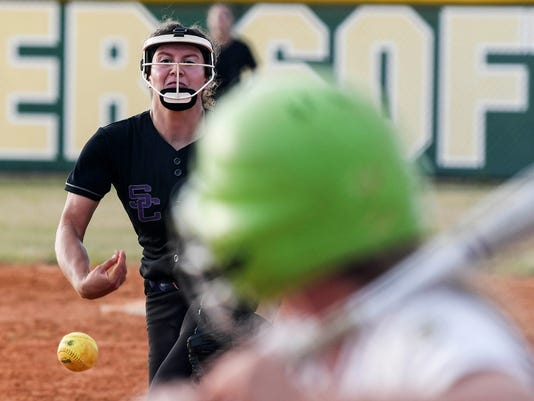 High School Softball: Space Coast at Melbourne Central Catholic