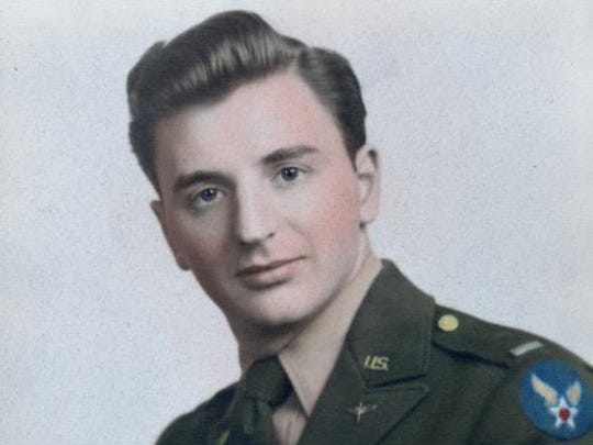 Tony Nardone as a young airman during WWII.