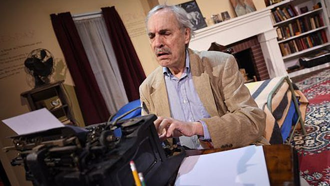John Maxwell as William Faulkner in his internationally acclaimed, one-man play on the life of the Nobel Prize-winning author.