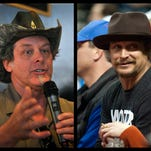 Michigan rockers Kid Rock, Ted Nugent meet and dine with Donald Trump