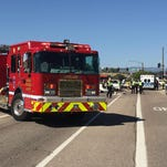 One person was killed and several others injured Wednesday in a south Loveland crash.
