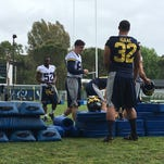Day 5 in Rome: Michigan football hits practice field