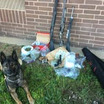Agents: Out-of-area pair found with stolen guns, meth, pot, 855 anxiety pills
