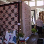 A quilt show is set for Canton's square April 17-18.
