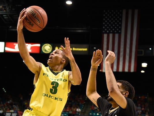 NCAA Basketball: Pac-12 Conference Tournament-Colorado vs Oregon