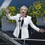 "Florence Henderson, seen performing ""God Bless America"" before the 2015 Indianapolis 500, will serve as grand marshal of this year's race."