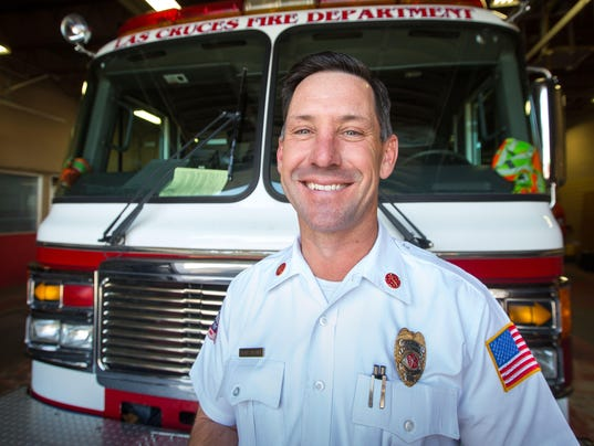 Former Las Cruces Fire Chief Travis Brown photo
