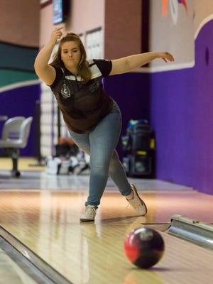 Junior bowler Amy Theodore is a member of Clarksville's 2017 National Junior Gold Bowling Championship Team.