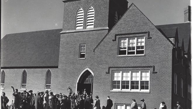The first service was held Jan. 20, 1952 at Harvey Browne Memorial Presbyterian Church's new location at 311 Browns Lane.