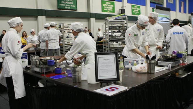 South Salem High School won the 2016 Oregon ProStart High School Culinary Championships at Chemeketa Community College. This year's event will be staged Sunday, Feb. 19, at Salem Convention Center.