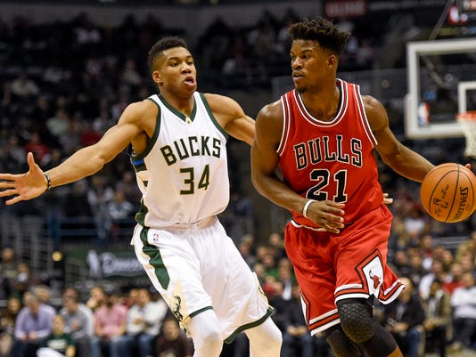 NBA: Chicago Bulls at Milwaukee Bucks