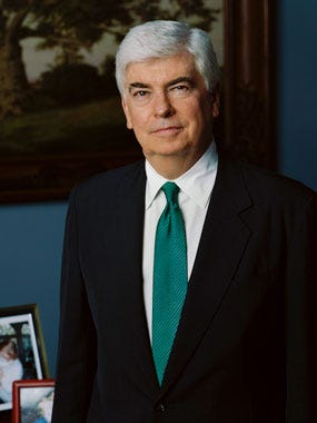 Former Sen. Christopher Dodd, D-Conn., will deliver the ninth annual Eugene J. McCarthy Lecture at 8 p.m. Oct. 26 at St. John's University.